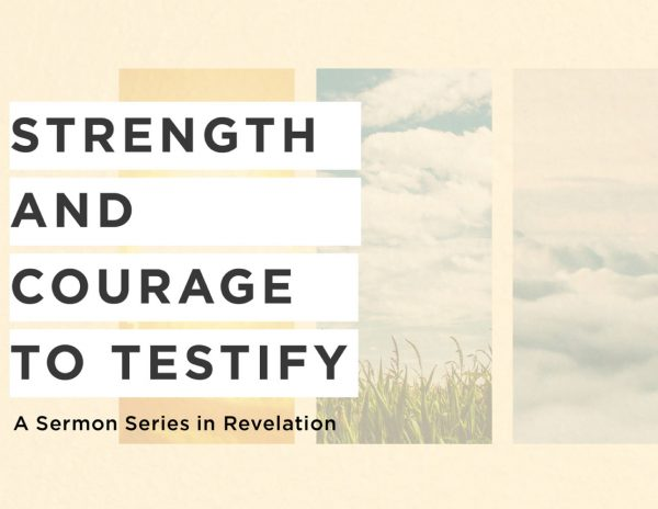 Revelation: Strength and Courage to Testify